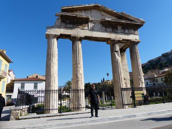 Roman Agora: Puerta de Atenea Arquegetis