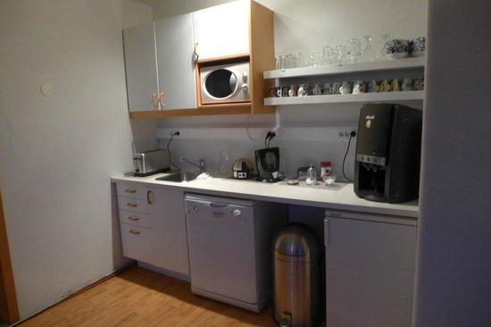 Hafnarnes: the mini kitchen