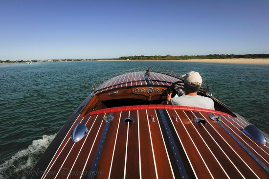 Noosa Dreamboats Classic Boat Cruises: The view