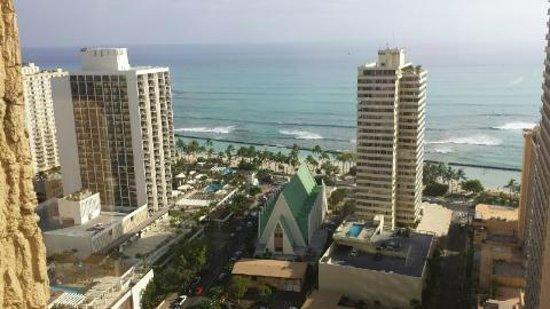 Hilton Waikiki Beach: view from 32nd floor
