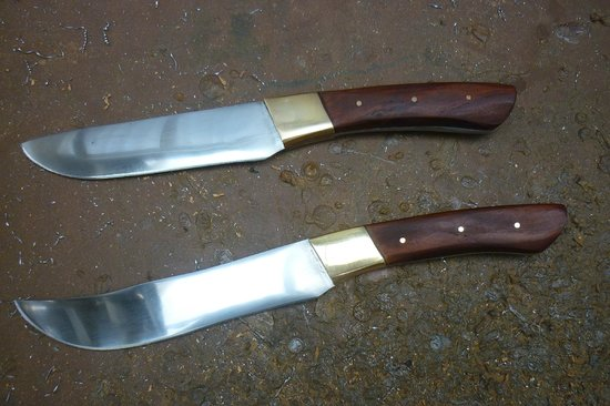 Barrytown Knifemaking: Our finished knives