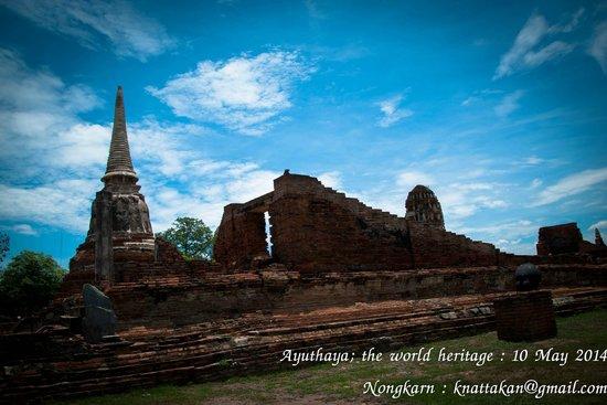 Ayutthaya Ruins : wat mahatat