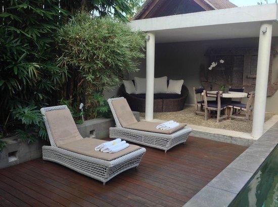 The Purist Villas and Spa: Chillin' at the Bamboo Villa