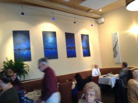 Blue on Highland: 南側の壁