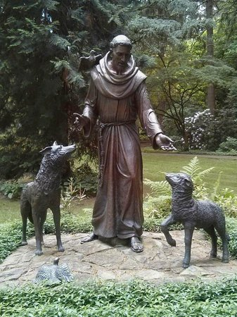 The Grotto - National Sanctuary of Our Sorrowful Mother: St. Francis