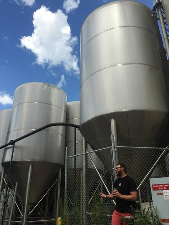 Avery Brewing Company : Huge equipment moving to a new location soon!