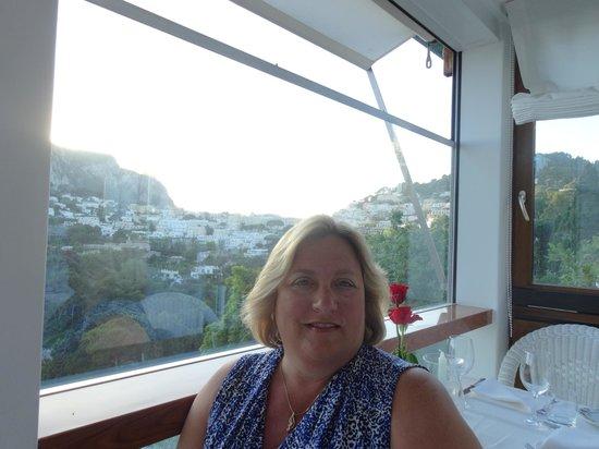 Terrazza Brunella: View of Ana Capri