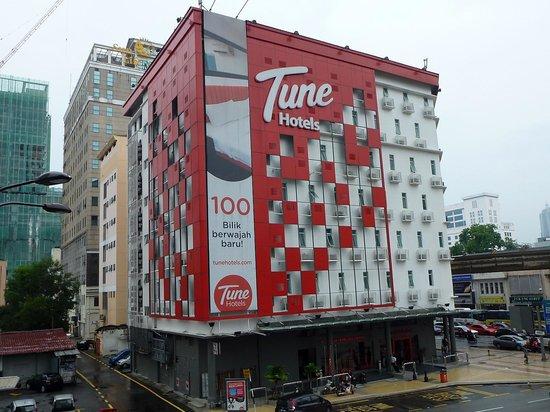 Tune Hotel Kuala Lumpur : 外観
