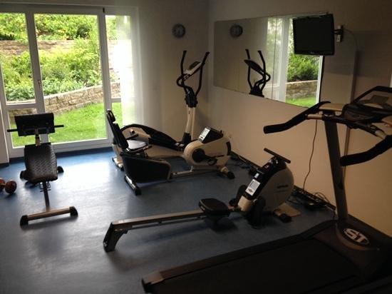 Landhotel Rugheim: kleiner Fitnessraum