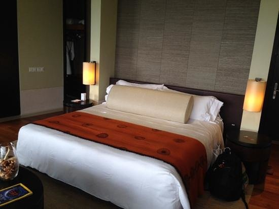 Capella Singapore : the room