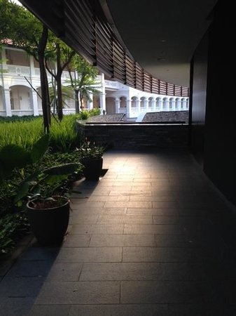 Capella Singapore : in the evening