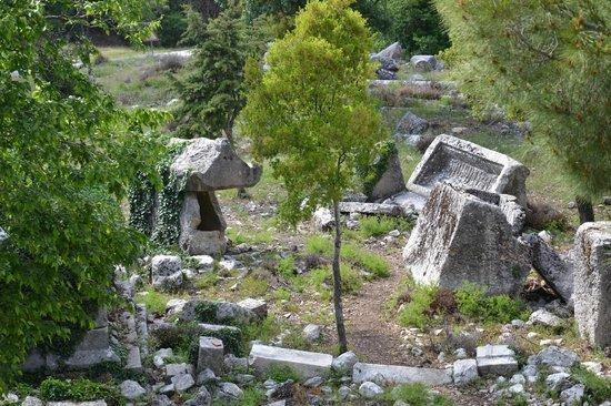 Termessos : Некрополь