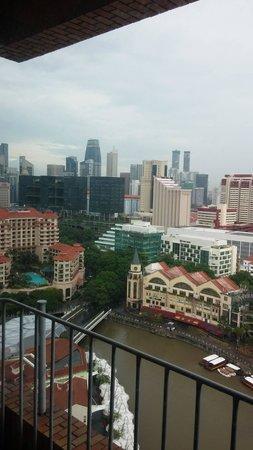 Novotel Singapore Clarke Quay: room's balcony