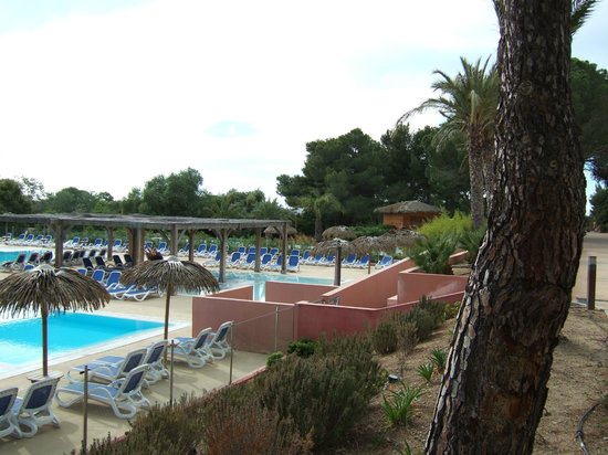 Belambra Clubs - Golfe de Lozari : Espace piscine