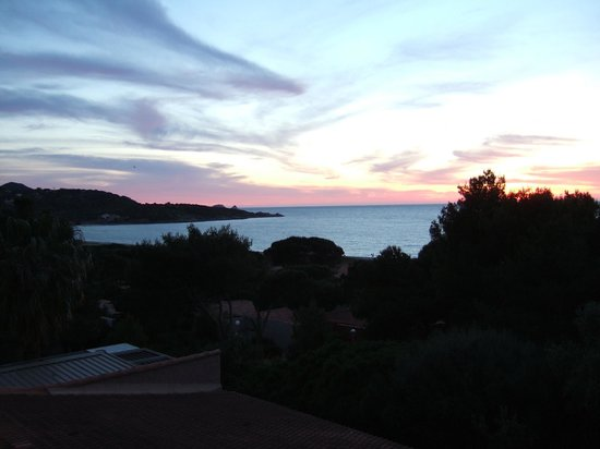 Belambra Clubs - Golfe de Lozari : Vue du balcon