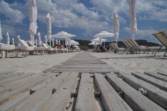 Porto Sani: Beach