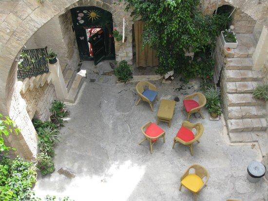 The Fauzi Azar Inn: inner yard