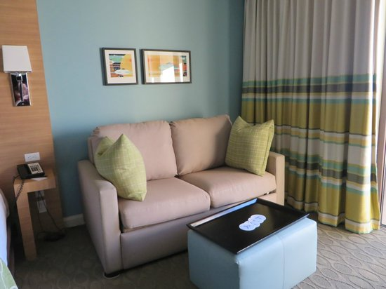 Bay Lake Tower at Disney's Contemporary Resort: Pullout couch