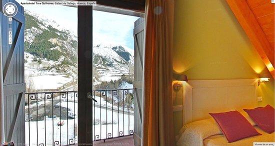 Apartahotel Tres Quiñones: Dormitorio