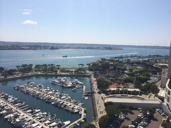 Marriott Marquis San Diego Marina: View from 19th floor of the South Tower