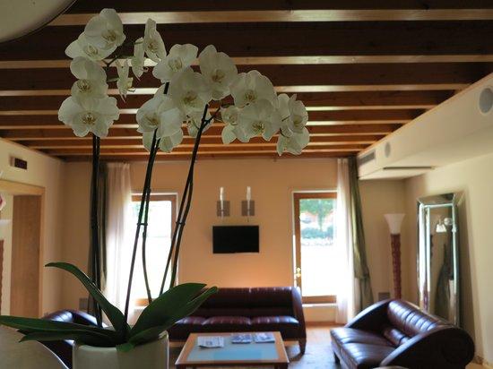 Hotel Della Torre 1850 : hall con orchidee