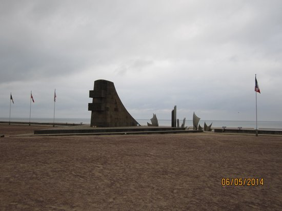 Omaha Beach : Monument