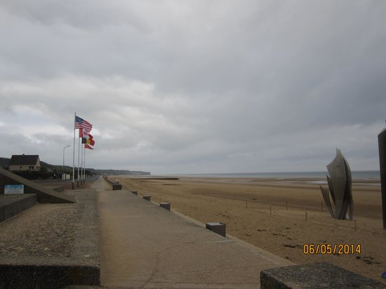 Omaha Beach : Flags
