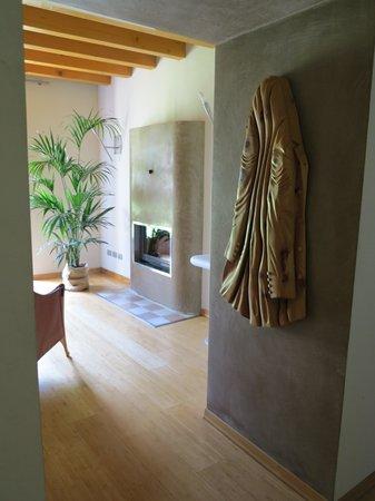 Hotel Della Torre 1850: sala caminetto