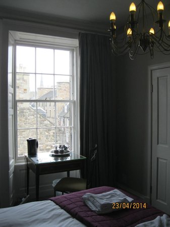 53 Frederick Street: View from the bedroom window