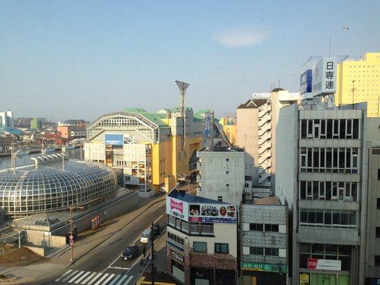 La Vista Kushirogawa: 部屋からの眺め