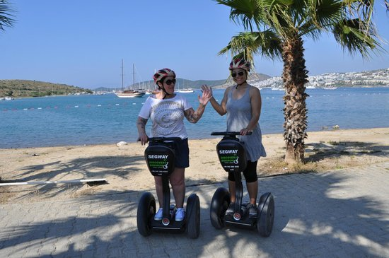 Aegean Gingers Segway Tours: Happy!
