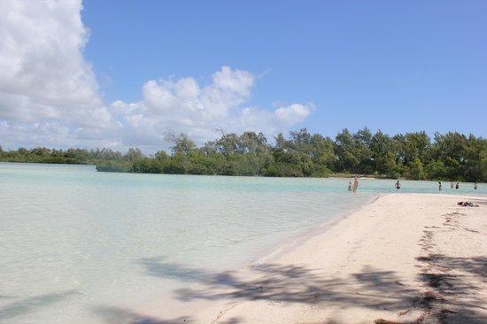 Canonnier Beachcomber Golf Resort & Spa: l'ile aux cerfs