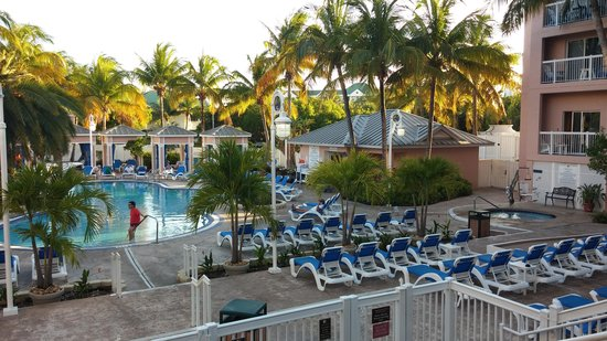 DoubleTree by Hilton Hotel Grand Key Resort - Key West: Pool view