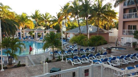 DoubleTree by Hilton Hotel Grand Key Resort - Key West: Pool view