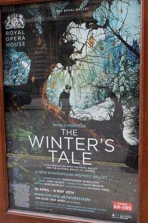 Royal Opera House: Poster for ballet