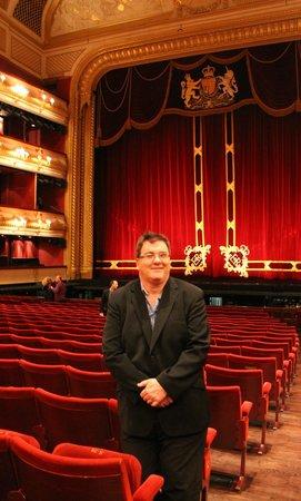 Royal Opera House: Inside audiotorium