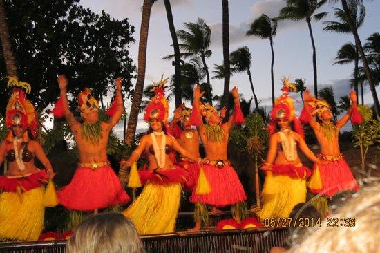 Wailele Polynesian Luau: Luau- the show