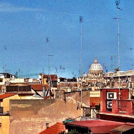 Hotel Madrid: Colazione sui tetto di Roma