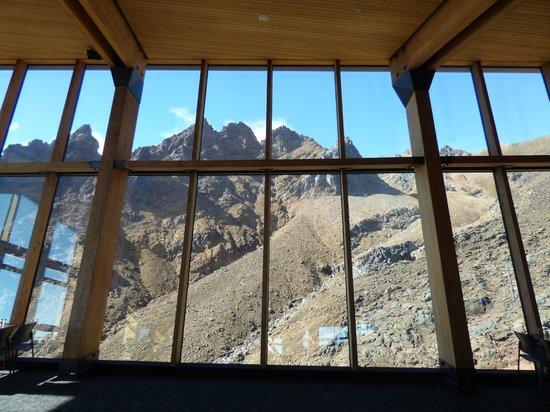Mt Ruapehu : View from The Knoll Ridge Restaurant
