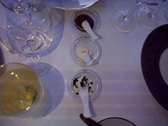 Gordon Ramsay au Trianon: Amuse-bouches à tartiner