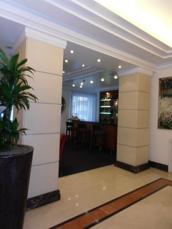 Hotel Dei Mellini: Reception area