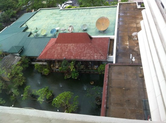 Hilton Colombo : hotel view from room