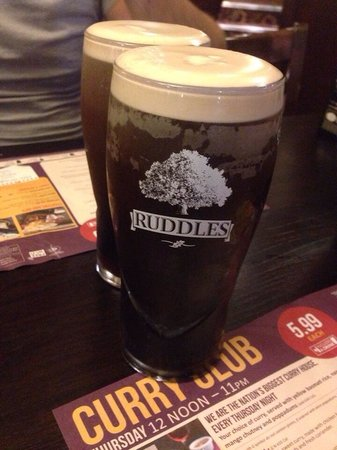 The Eight Bells JD Wetherspoon: Guinness