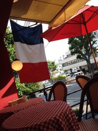 Bistrot Cafe de Paris : Kobe best  terrace