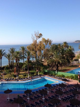 The New Algarb Hotel: View from balcony