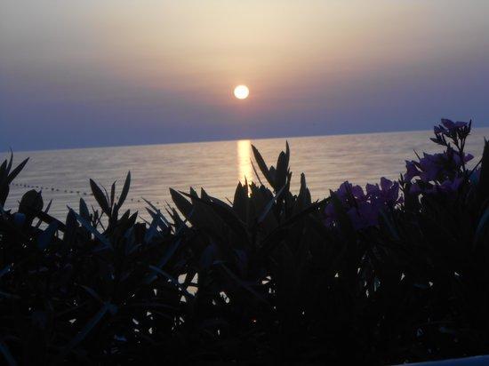 Ephesia Hotel : vue de la  terrasse au souper