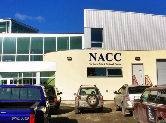 Northern Arts and Cultural Centre: NACC in the spring.
