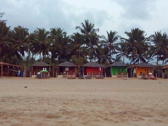 Agonda Beach : Beach Huts