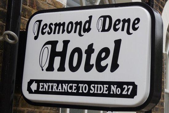 Jesmond Dene Hotel - sign