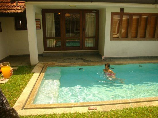 Coconut Lagoon: Our Pool in our Villa